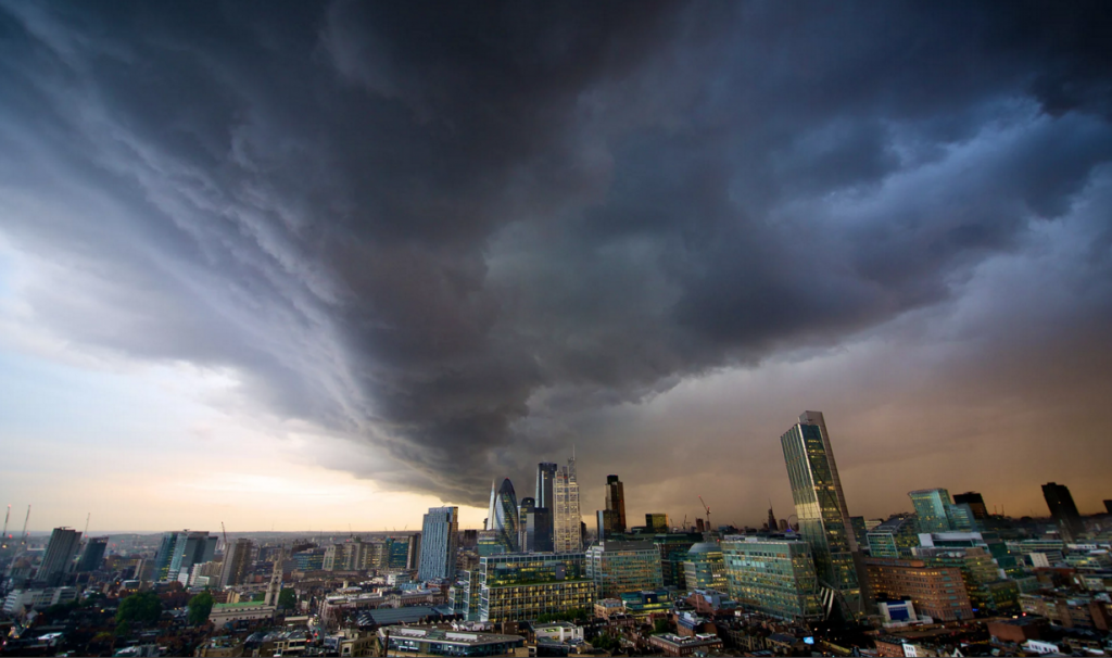 Storm gathers in global economy
